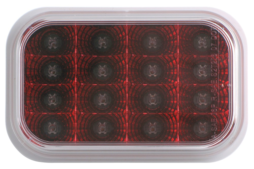STL35CCRB - Recessed Mount Optronics Trailer Lights