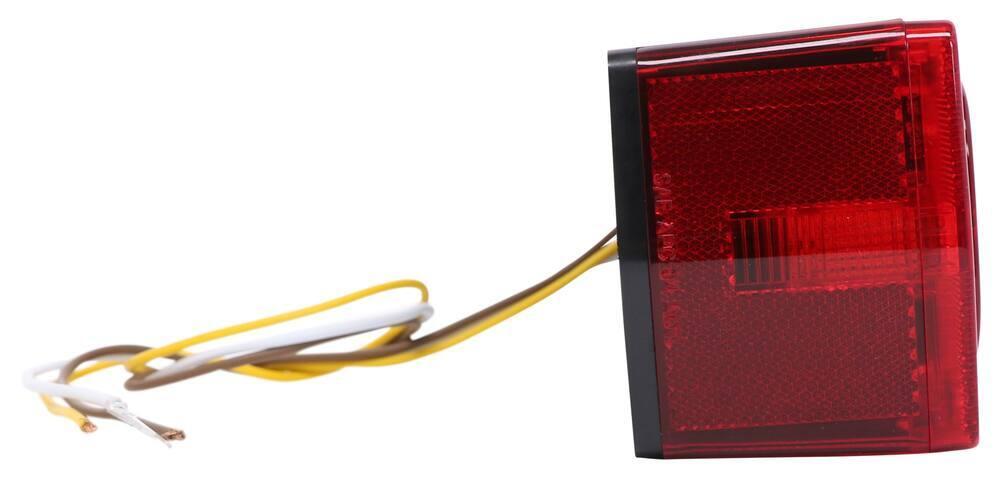 Wesbar 1-Inch x 1-Feet Reflector Red, 2 bag Adhesive back.