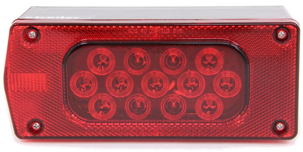 Trailer Lights STL37RPG - Rectangle - Optronics
