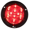 Optronics LED Trailer Tail Light - Stop, Turn, Tail - Submersible - 10 Diodes - Round - Red Lens Round STL42RB