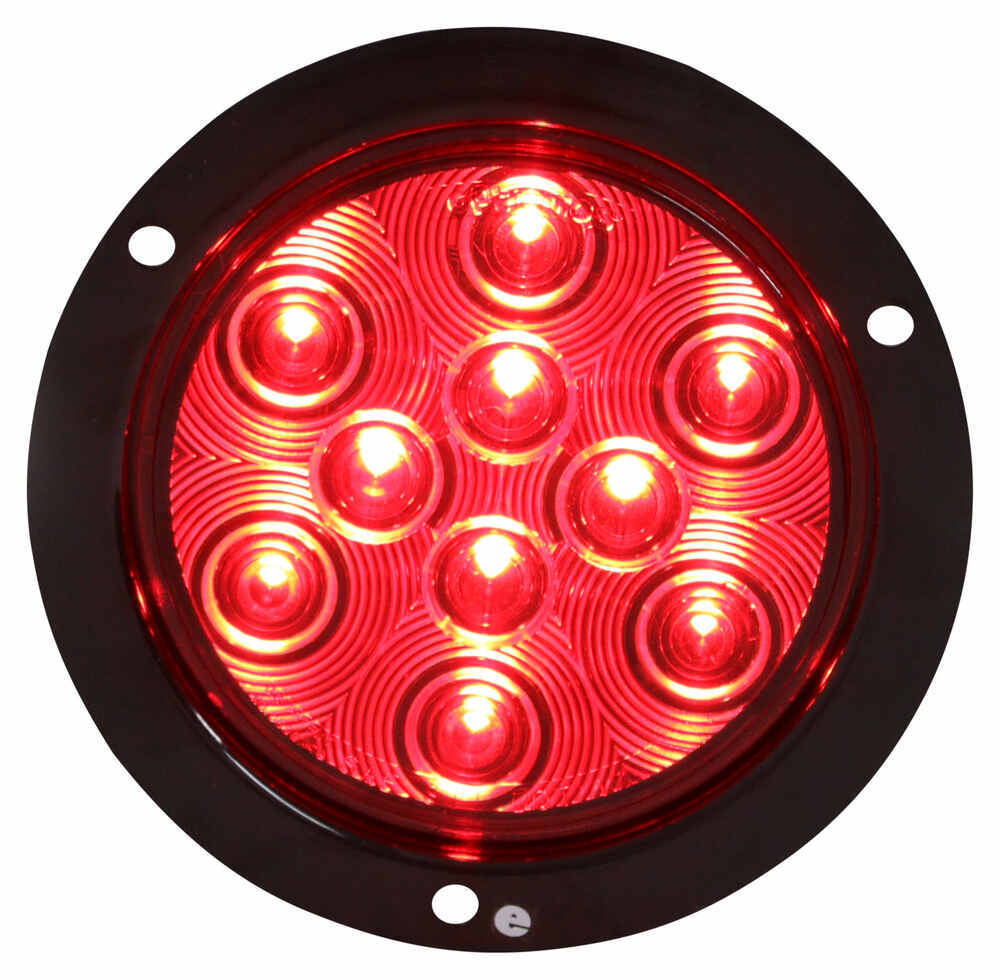Compare Sealed 4 Vs Miro Flex Led Trailer Circuit To Convert The Two Wire Tail Light One Side Marker Round Stop Turn And Flange Mount