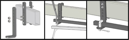 Installation of Sway-Control Brackets