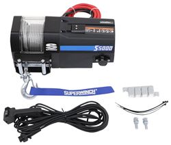 Superwinch S5000 Trailer Winch - Wire Rope - Roller Fairlead - 5,000 lbs