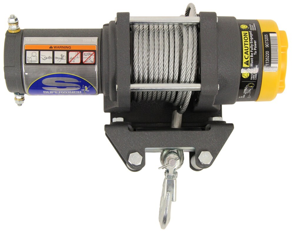Compare Superwinch Terra Vs Lt3000 2500 Wiring Diagram Electric Winch Sw1135220 Fast Line Speed