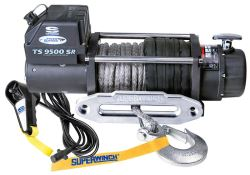 Superwinch Tiger Shark Off-Road Winch - Synthetic Rope - Hawse Fairlead - 9,500 lbs