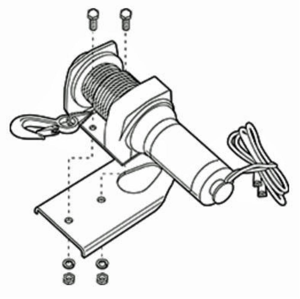 compare winch mounting vs superwinch portable
