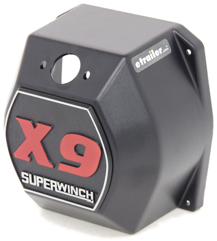 Replacement Solenoid Cover With Logo For Superwinch X9