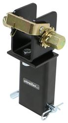 Brophy Stake Pocket Tie-Down Winch for Flatbed Truck or Trailer - Black Powder Coat - 3,333 lbs