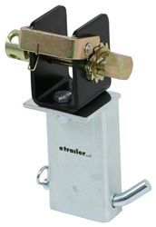 Brophy Stake Pocket Tie-Down Winch for Flatbed Truck or Trailer - Zinc Coated Base - 3,333 lbs