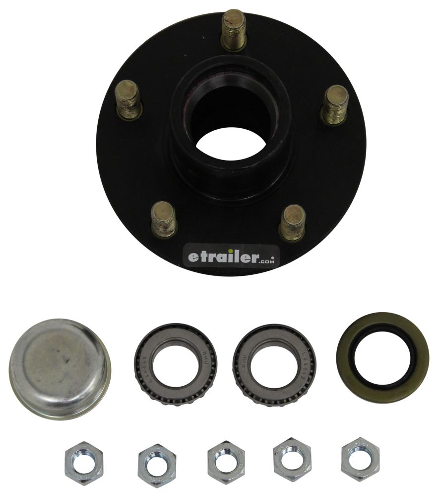 Trailer Hubs and Drums T4084600042 - 1/2 Inch Stud - Titan