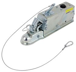 Titan Zinc-Plated, Leverlock Brake Actuator - Disc - Adjustable Ball - Bolt On - 6,000 lbs