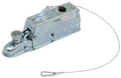 Titan Zinc-Plated Brake Actuator - Disc - Multi-Fit Ball - Bolt On - 7,000 lbs