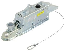 Titan Zinc-Plated Brake Actuator w/ Lockout Shield - Disc - Multi-Fit Ball - Bolt On - 6,000 lbs