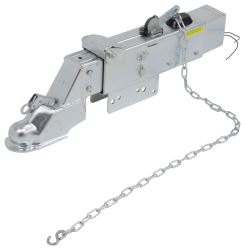 "Titan Zinc-Plated Brake Actuator w/ Drop, Electric Lockout - Disc - 2-5/16"" Ball"