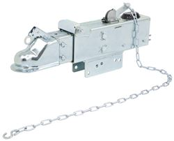 "Titan Zinc-Plated Brake Actuator - Drum - 2-5/16"" Ball - Bolt On - 12,500 lbs"