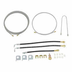 Titan Hydraulic Brake Lines and Fittings for Single-Axle, Torsion-Axle Trailers
