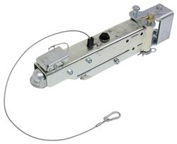 "Swing-Away Actuator w/ Manual Lockout - Bolt On - Drum - 2"" Ball - 7,500 lbs"