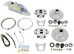 Titan Disc Brake Kit and Leverlock Actuator w/ Electric Lockout - Single, 3,500-lb Axle