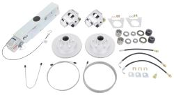 Disc Brake Kit and Actuator w/ Electric Lockout - Single, 3,500-lb Axle