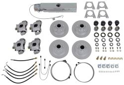 Titan Disc Brake Kit and Actuator w/ Electric Lockout - Tandem, 3,500-lb Axle