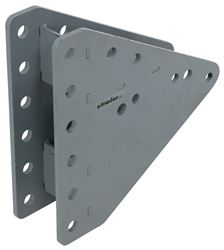"Titan 6-Hole Adjustable Channel Bracket - Bolt On - 8"" Height Adjustment"
