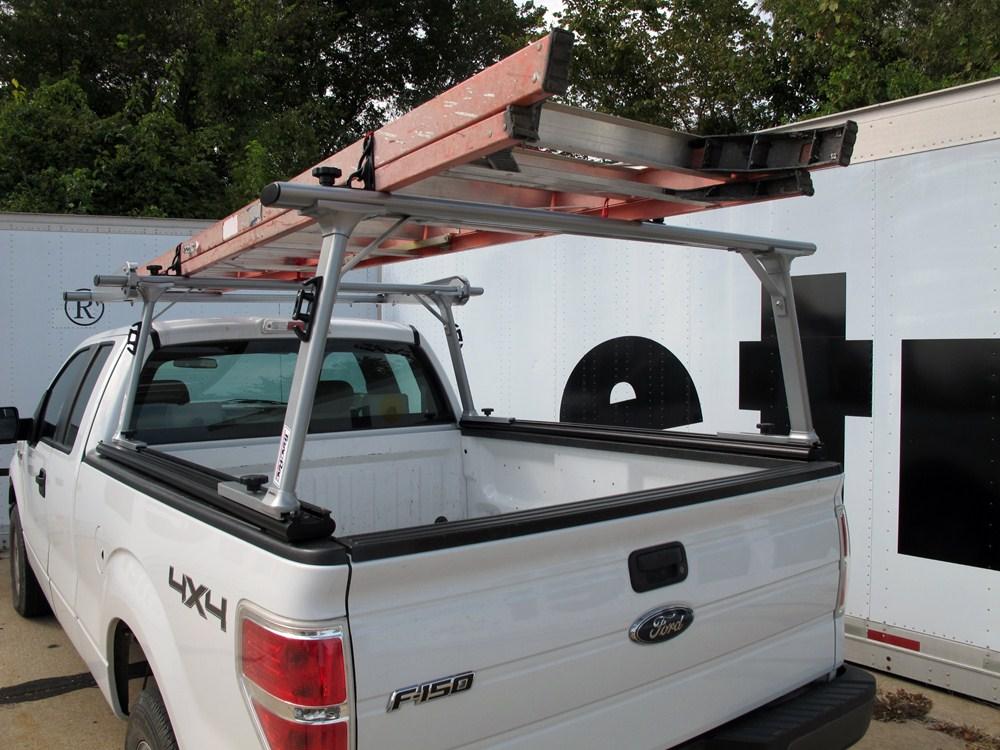 Tracrac Sr Sliding Truck Bed Ladder Rack W Over The Cab