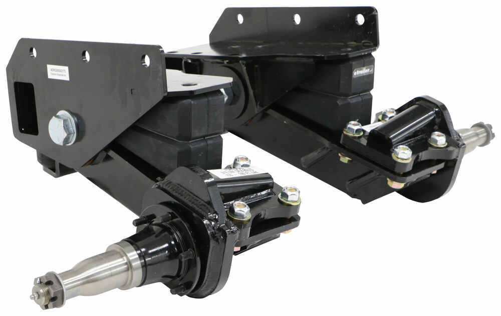 Trailer Axles Brakes System : Timbren axle less trailer suspension system quot lift