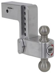 "180 Hitch 2-Ball Mount w/ Stainless Balls - 3"" Hitch - 6"" Drop, 6"" Rise - 21K"