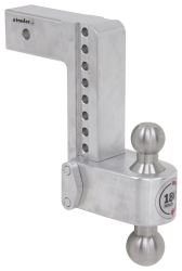 "180 Hitch 2-Ball Mount w/ Stainless Balls - 2-1/2"" Hitch - 8"" Drop, 9"" Rise - 14.5K"