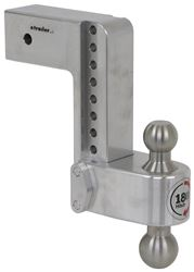 "180 Hitch 2-Ball Mount w/ Stainless Balls - 3"" Hitch - 8"" Drop, 8"" Rise - 21K"