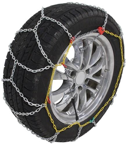 P265//65 17 TUV Diamond Tire Chains Set of 2 TireChain.com P265//65R17