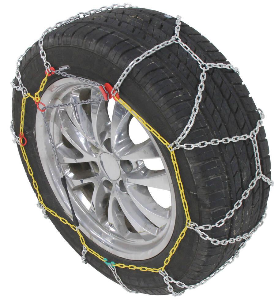 Titan Chain Alloy Snow Tire Chains - Diamond Pattern - Square Link