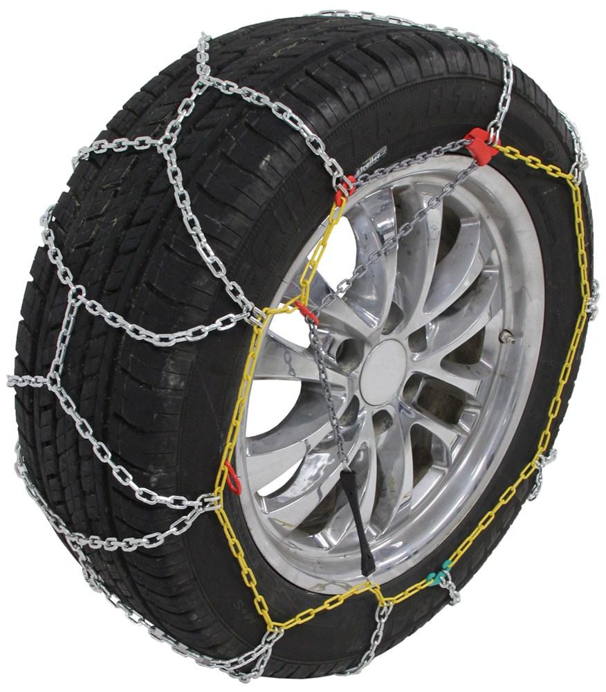 Jeep Wrangler Unlimited Titan Chain Alloy Snow Tire Chains