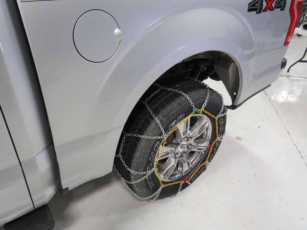 Titan Chain Alloy Snow Tire Chains - Diamond Pattern
