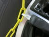 Titan Chain Alloy Snow Tire Chains - Diamond Pattern - Square Link - 1 Pair On Road Only TC2327