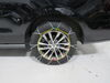 Titan Chain Alloy Snow Tire Chains - Diamond Pattern - Square Link - 1 Pair Steel Square Link TC2327