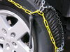 TC2526 - Drape Over Tire - Make Connections Titan Chain Tire Chains on 2017 Jeep Wrangler Unlimited