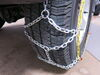 Titan Chain Alloy Snow Tire Chains - Diamond Pattern - Square Link - 1 Pair Steel Square Link TC2526 on 2017 Jeep Wrangler Unlimited