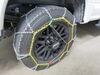 Tire Chains TC2536 - Drape Over Tire - Make Connections - Titan Chain on 2019 Ford F-350 Super Duty