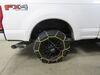TC2536 - Drape Over Tire - Make Connections Titan Chain Chains - Diamond on 2019 Ford F-350 Super Duty