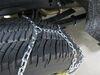 Titan Chain Steel Square Link Tire Chains - TC2536 on 2019 Ford F-350 Super Duty