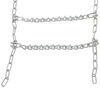 Titan Chain Snow Tire Chains w/ Cams - Ladder Pattern - V-Bar Link - 1 Pair No Rim Protection TC2828CAM