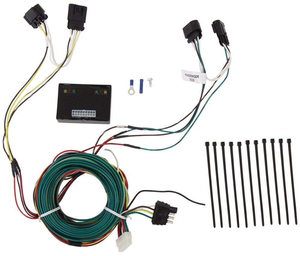 Tow Car Wiring Harness : Towdaddy custom tail light wiring kit for towed vehicles