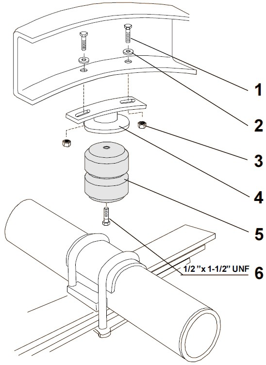 1989 Dodge Dakota Vehicle Suspension