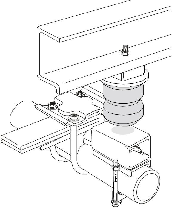 1994 Ford Ranger Timbren Rear Suspension Enhancement System