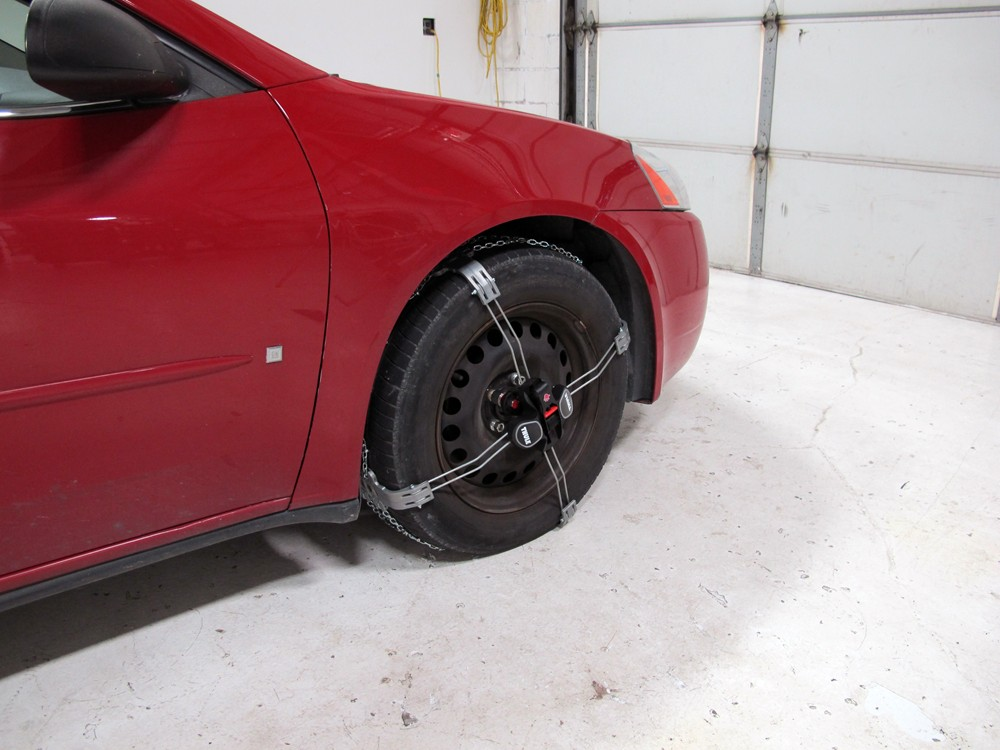 Thule Premium Self Tensioning Snow Tire Chains Diamond