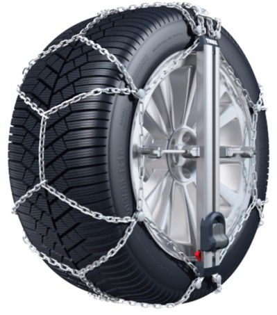 honda fit konig  tensioning  pro snow tire chains diamond pattern  link easy