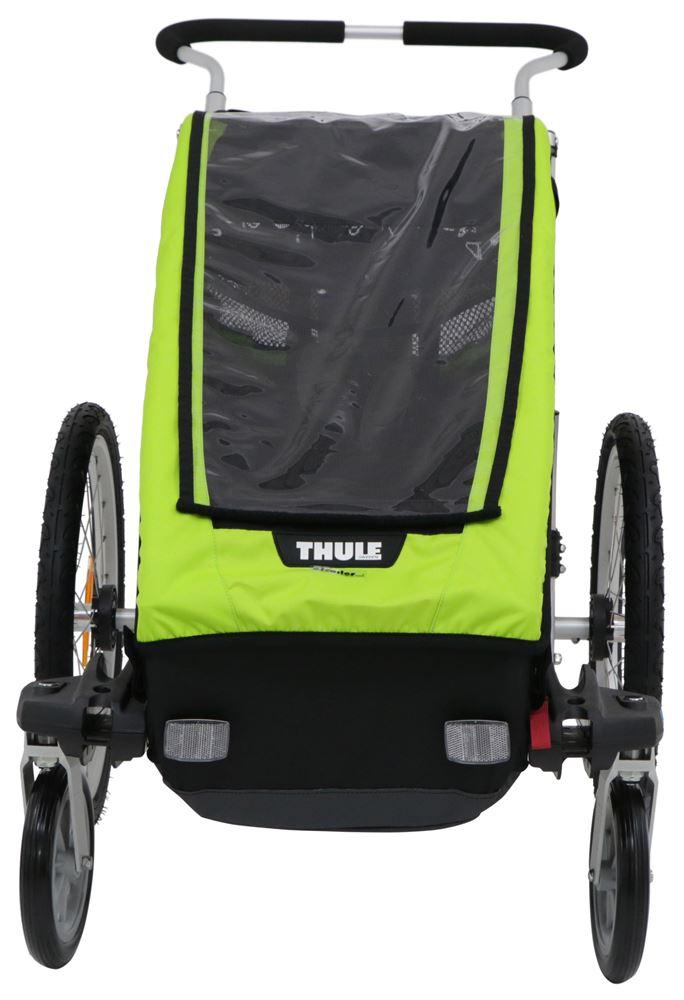 44e645fc700 Thule Chariot Cheetah XT Bike Trailer and Stroller - 1 Child - Green Thule  Bike Trailers TH10100426