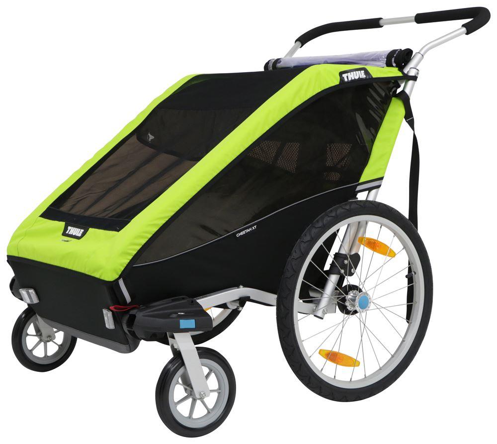 Thule Chariot Cheetah XT Bike Trailer, Stroller, and ...