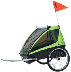 Thule Cadence Bike Trailer - 2 Child - Green